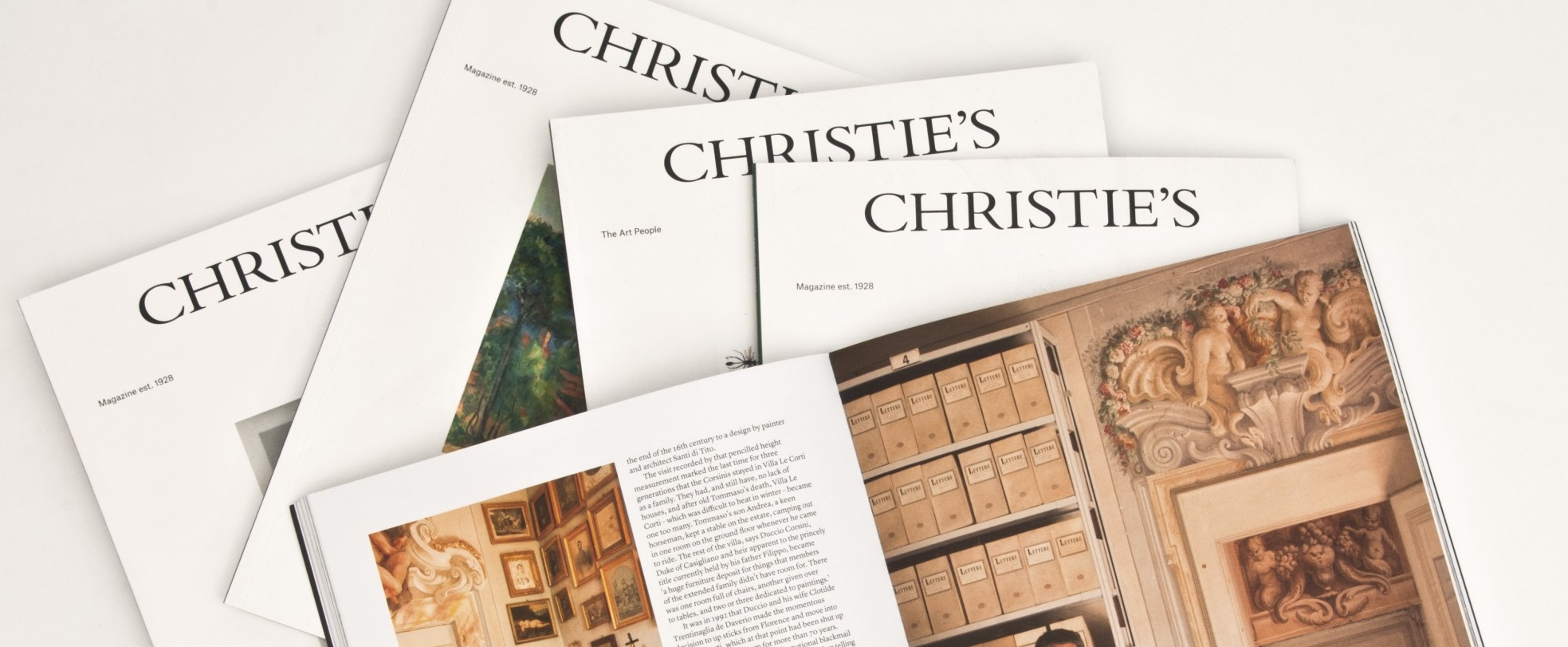 Christies Magazine Banner